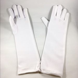 Other - Girl Tea Party Stretch Polyester Long Dress Gloves